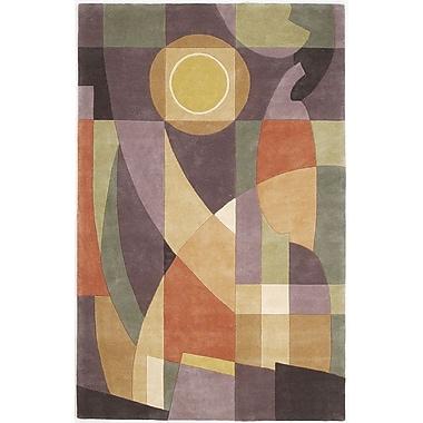 Ebern Designs Estrada Pastel Visions Area Rug; 3'6'' x 5'6''