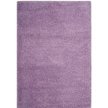 Ebern Designs Collin Purple Area Rug; Square 6'7'' x 6'7''
