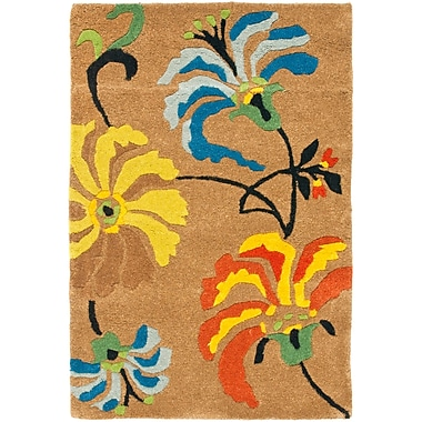 Ebern Designs Chidi Brown Area Rug; 6' x 9'