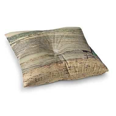 East Urban Home Beach Chair Sandy by Angie Turner Floor Pillow; 26'' x 26''