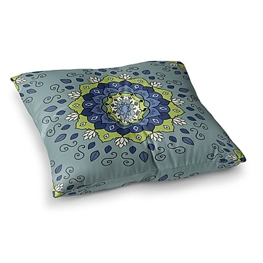 East Urban Home Mandala Geometric by Cristina Bianco Design Floor Pillow; 23'' x 23''