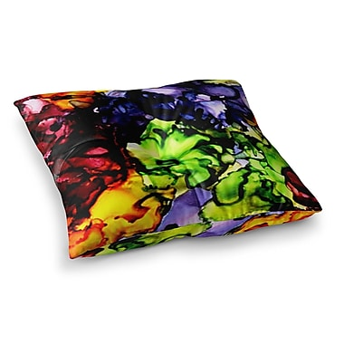 East Urban Home Teacher's Pet by Claire Day Floor Pillow; 26'' x 26''