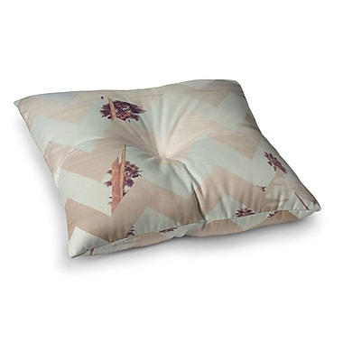 East Urban Home Oasis by Catherine McDonald Floor Pillow; 23'' x 23''