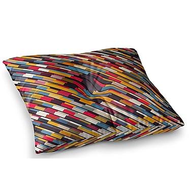 East Urban Home Texturize by Danny Ivan Floor Pillow; 23'' x 23''