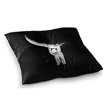 East Urban Home Help! by Digital Carbine Floor Pillow; 23'' x 23''
