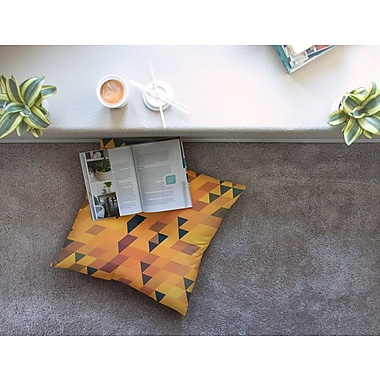 East Urban Home Danny Ivan Floor Pillow; 26'' x 26''