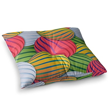 East Urban Home Melons by Danny Ivan Floor Pillow; 26'' x 26''