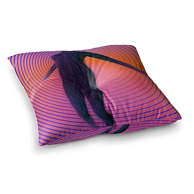 East Urban Home Human Soul by Danny Ivan Floor Pillow; 26'' x 26''