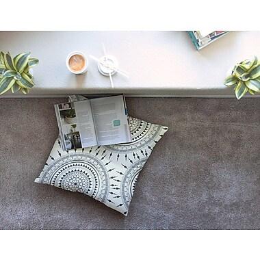 East Urban Home Boho Magic Mandala by Famenxt Floor Pillow; 23'' x 23''