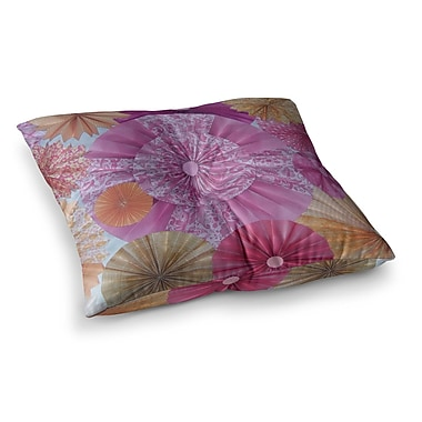 East Urban Home Blossoming by Heidi Jennings Floor Pillow; 23'' x 23''