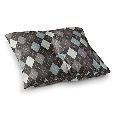 East Urban Home Argyle by Heidi Jennings Floor Pillow; 23'' x 23''