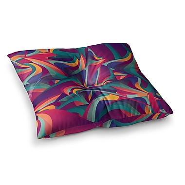 East Urban Home Wrong Past by Danny Ivan Floor Pillow; 26'' x 26''