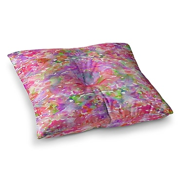 East Urban Home Jewel in the Crown by Ebi Emporium Floor Pillow; 23'' x 23''