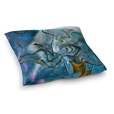 East Urban Home Wonky by Alyzen Moonshadow Floor Pillow; 26'' x 26''
