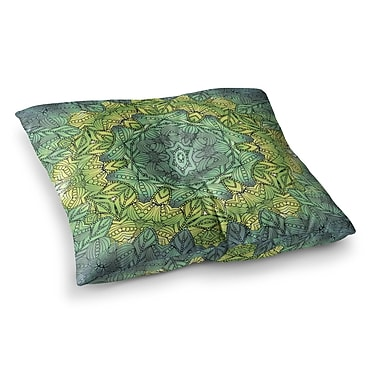 East Urban Home Fairy Mandala by Art Love Passion Floor Pillow; 23'' x 23''