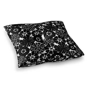 East Urban Home Circle Abstract Pattern by Amy Reber Floor Pillow; 26'' x 26''