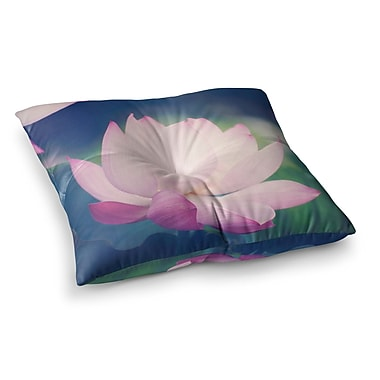 East Urban Home Hope for Tomorrow II by Catherine McDonald Floor Pillow; 26'' x 26''