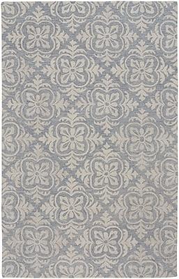One Allium Way Oyer Hand-Tufted Wool Blue Area Rug; 3'6'' x 5'6''