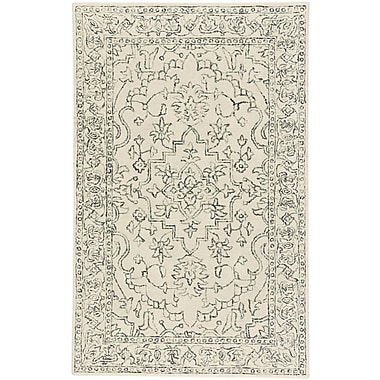 One Allium Way Oxley Hand-Tufted Natural Area Rug; 5' x 8'