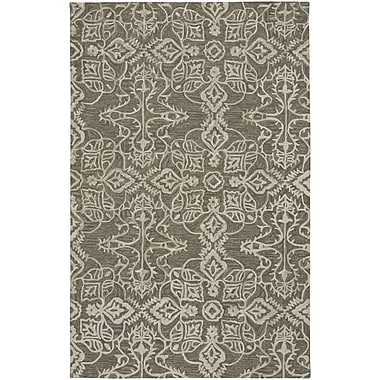 One Allium Way Oyer Hand Tufted Wool Green Area Rug; 9' x 12'