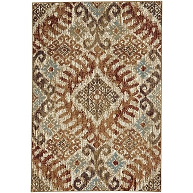 Loon Peak Pilesgrove Diamond Sunset Area Rug; 2'7'' x 4'7''