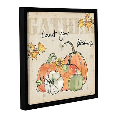 August Grove 'Be Thankful IV' Framed Painting Print on Wrapped Canvas; 18'' H x 18'' W x 2'' D