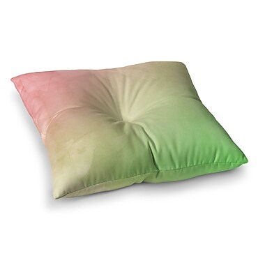 East Urban Home Greenery by Cafelab Floor Pillow; 26'' x 26''