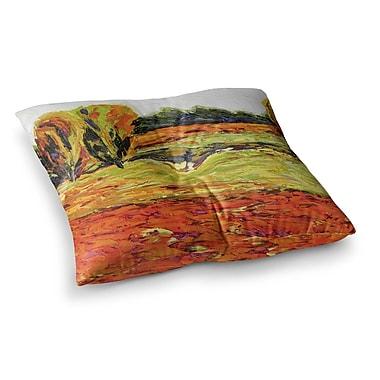 East Urban Home Summer Breeze Foliage by Jeff Ferst Floor Pillow; 26'' x 26''
