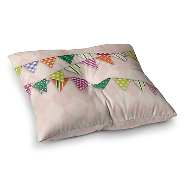 East Urban Home Flags 2 Floor Pillow; 26'' x 26''