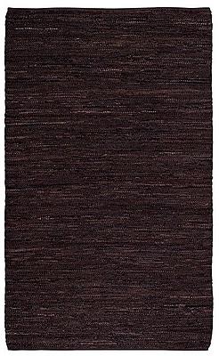 Highland Dunes Kandi Cocoa Area Rug; 4' x 6'