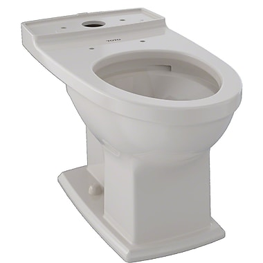 Toto Connelly 0.9 GPF Elongated Toilet Bowl; Sedona Beige