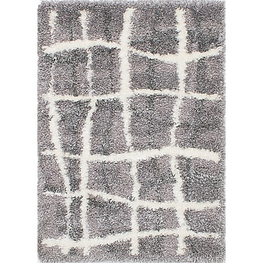 Orren Ellis Xandra Dark Gray Area Rug
