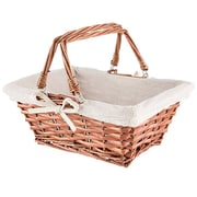 Charlton Home Woven Wicker/Rattan Basket