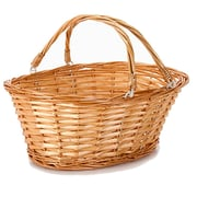Charlton Home Split Willow Wicker/Rattan Basket
