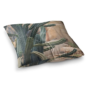East Urban Home Cactus Jungle II Photography by Ann Barnes Floor Pillow; 26'' x 26''