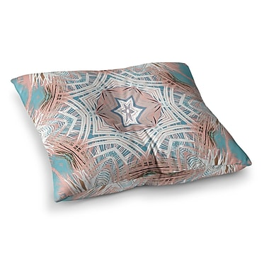 East Urban Home Tribe by Alison Coxon Floor Pillow; 26'' x 26''