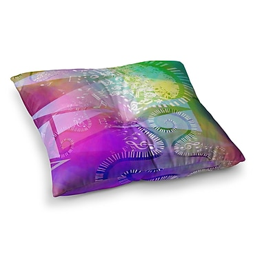 East Urban Home Musical Tendrils by Alyzen Moonshadow Floor Pillow; 26'' x 26''