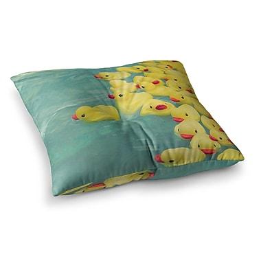 East Urban Home Escaping Normal by Ann Barnes Floor Pillow; 26'' x 26''