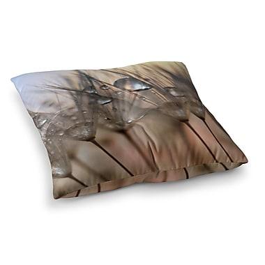East Urban Home Trinkets Flower by Alison Coxon Floor Pillow; 23'' x 23''