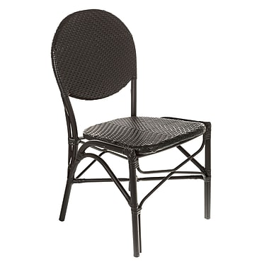 Brayden Studio Shadwick Modern Cafe Bistro Stacking Patio Dining Chair