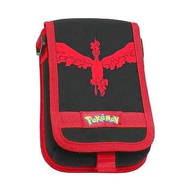 Legendary Pokemon Licensed Travel Pouch 3DS XL, Red