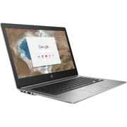 """HP Chromebook 13 G1 W0T02UT#ABA 13.3"""" Chromebook, 3.1 GHz Intel Core m7-6Y75, 32 GB eMMC, 16 GB SDRAM, Chrome OS"""