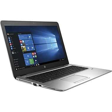 HP - Portatif EliteBook 850 G4 1BS46UT#ABA, 15,6 po, Intel Core i5-7200U à 2,5 GHz, SSD 256 Go, SDRAM 8 Go, Win 10 Pro