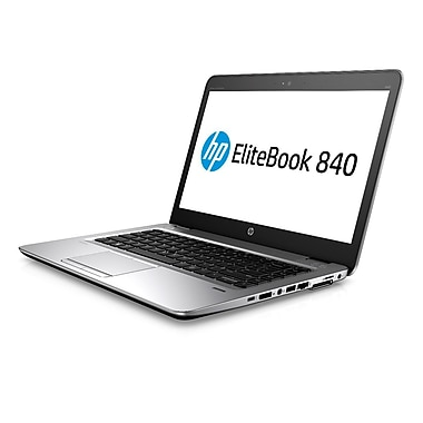 HP - Portatif EliteBook 840 G4 1FY18UT#ABL, 14 po, Intel Core i5-7200U à 3,1 GHz, SSD 256 Go, DDR4 8 Go, Win 10 Pro