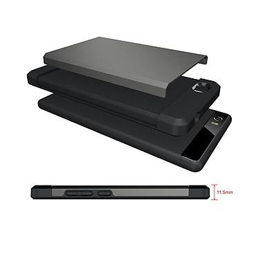 NUU Mobile - Etui protecteur TUDIA mince MERGE double couche pour NUU Mobile M2, argent