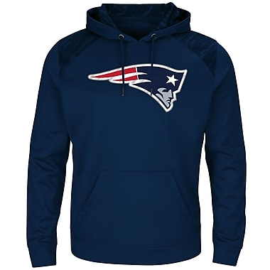 Majestic New England Patriots Armor Synthetic Hoodie, Medium