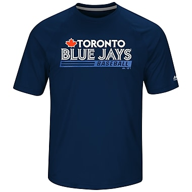 Majestic – T-shirt Fanfare des Blue Jays de Toronto, grand