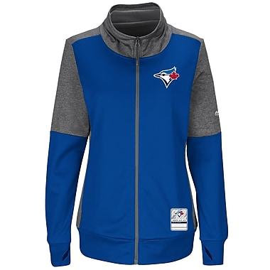Majestic – Veste à fermeture à glissière pour femmes Winner's Take des Blue Jays de Toronto, petit