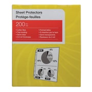 Economy Lightweight Sheet Protectors, 200/Pack