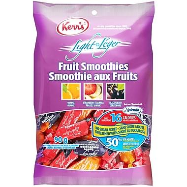 Kerr's – Bonbons légers, frappés aux fruits, sans sucre ajouté, 90 g